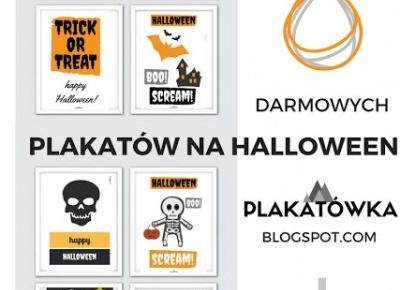 halloween party poster to print | plakatówka