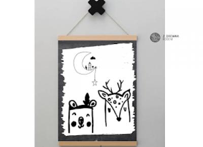 wyjątkowe plakaty do pokoju dziecka  | plakatówka