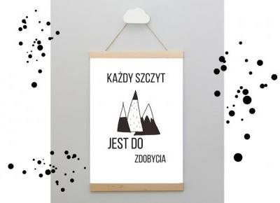 plakaty z tekstami motywacyjnymi | plakatówka