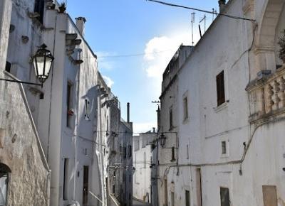 Ostuni - Apulia też rozczarowuje