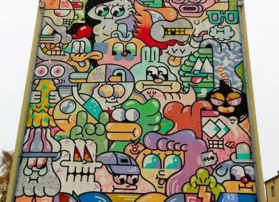 Gdynia też ma swoje murale! | Po śródmieściu szlakiem street artu
