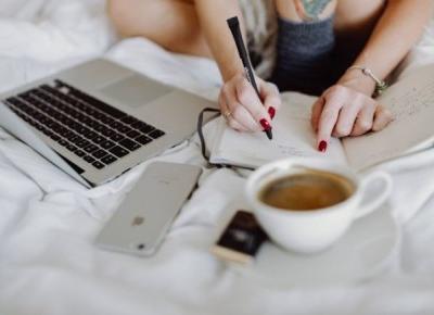 Dlaczego warto prowadzić bloga? 5 punktów, które przekonają do pisania.