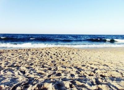 Pierwsze dni nad morzem