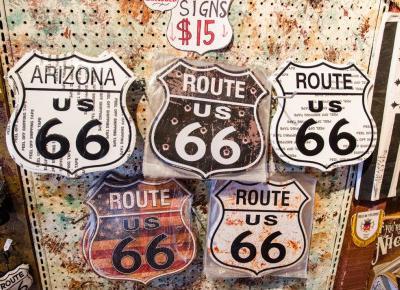 Legendarna droga która nie istnieje - Route 66 w USA