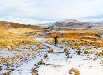 Zimowa galeria zdjęć - Połącz kropki