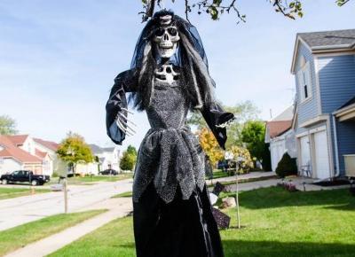 Cukierek czy psikus? Halloween w USA - Połącz kropki