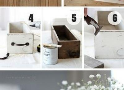 Drewniany Pojemnik DIY | Pomysł Na Wszystko