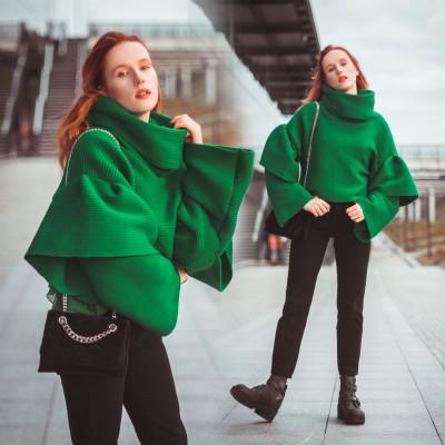 Zimowa stylizacja | Najcieplejsza bluza świata | Hedonisticat @porcelanovva | Łódź