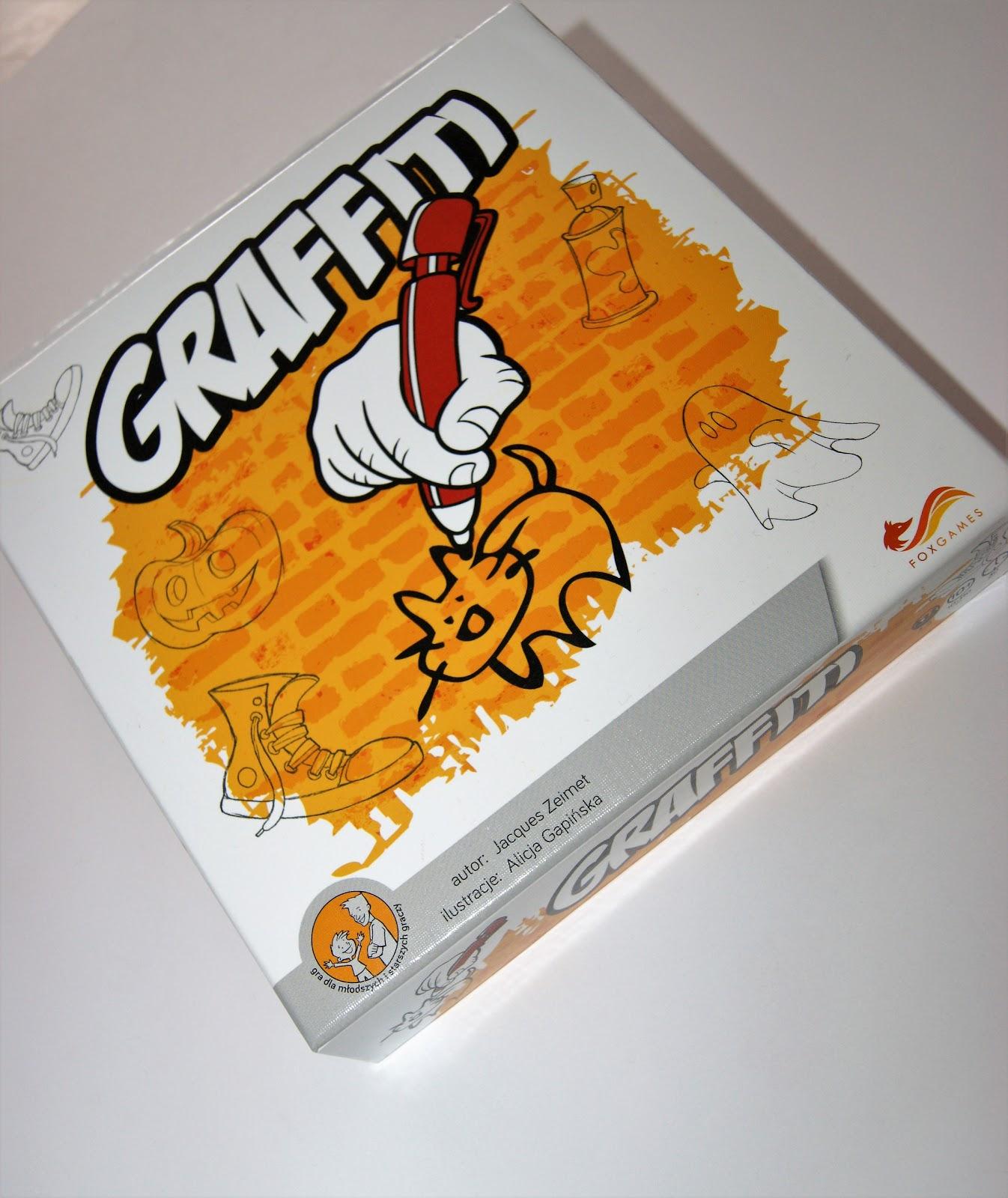 Pożeram strony!!!: Planszówkowy wtorek: Grafitti, Fox Games  Recenzja