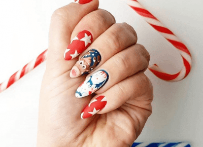 Nails Christmas - Inspiracje