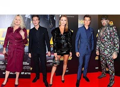 Jak prezentowały się gwiazdy na premierze filmu Diablo: Wyścig o wszystko