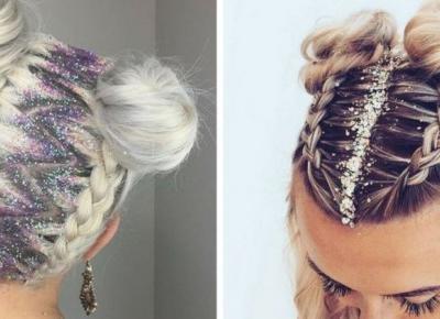 Brokatowe włosy - Hit czy Kit?