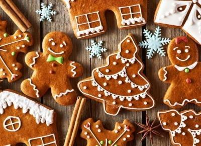 Najlepsze przepisy na ciastka i pierniczki - Christmas