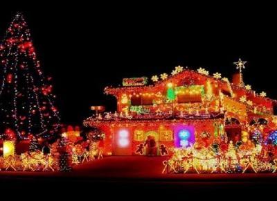 10 Najbardziej oświetlonych domów za granicą