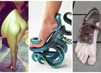15 Szokujących Zdjęć Najdziwniejszych Butów na Świecie