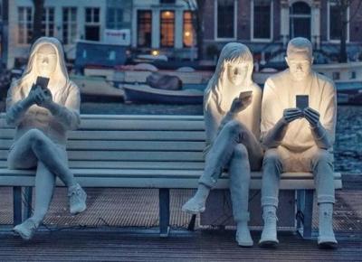 W Amsterdamie powstała rzeźba na miarę naszych czasów