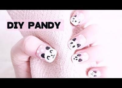 Jak namalować KAWAII PANDY na paznokciach?! 🐼💕