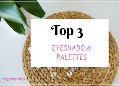 TOP 3 - palety cieni