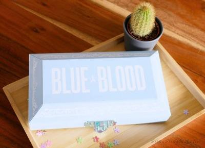 Bling Bling MakeUp: Blue Blood Palette od Jeffree Star Cosmetics, czy jestem na tak?