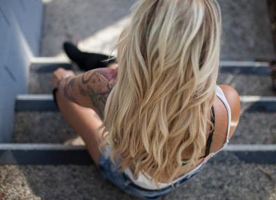Bling Bling MakeUp: Suchy szampon dla blondynek — Nivea