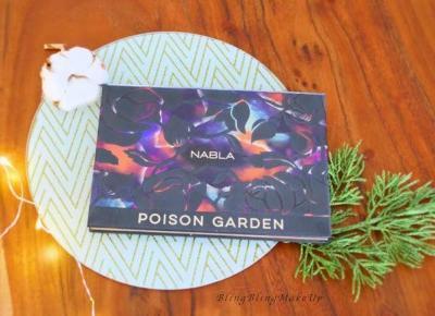 """Bling Bling MakeUp: Moja subiektywna opinia i test trwałości palety """"Poison Garden"""" marki Nabla"""
