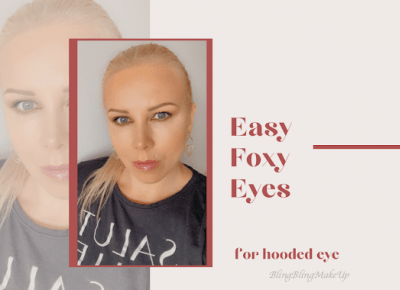 Bling Bling MakeUp: Easy Foxy Eyes