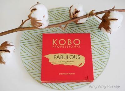 Bling Bling MakeUp: Paleta KOBO Proffessional — test i pierwsze wrażenie