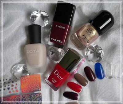 Bling Bling MakeUp: Piękna Przed Świętami — Świąteczne zdobienie paznokci