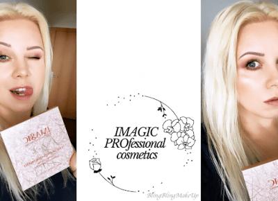 Bling Bling MakeUp: Paleta IMAGIC PROfessional cosmetics, czy warto się na nią skusić?