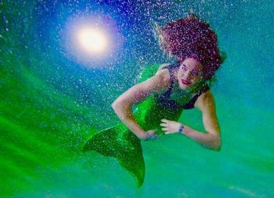 Bling Bling MakeUp: Mermaid makeup, czyli jak oswoić syrenkę...