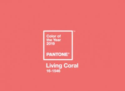 Bling Bling MakeUp: Living Coral w makijażu oka
