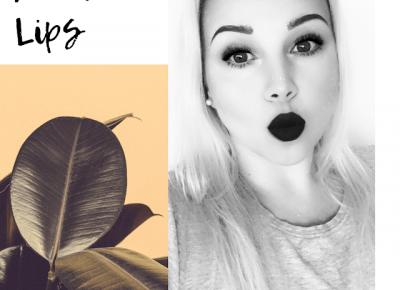 Bling Bling MakeUp: Makijaż z akcentem na usta 💋