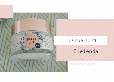 Bling Bling MakeUp: Bielenda — Japan Lift, krem na noc 40+