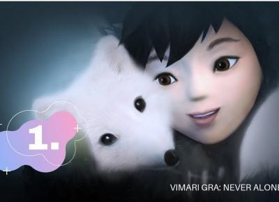 VIMARI GRA: Never Alone #1 | Dziewczynka poznaje białego lisa ❄️