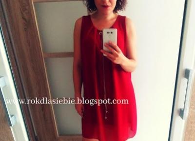 Letnia sukienka w jesiennym wydaniu