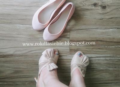 Buty na wiosnę - mój haul zakupowy