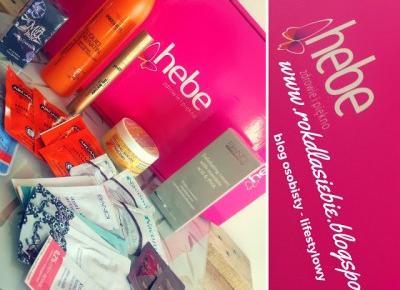 Rok Dla Siebie: paczka Hebe i Streetcom - nowości kosmetyczne