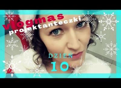 VLOGMAS #10 - Jak zrobić własną choinkę i bombkę? (DIY) / Pierwszy śnieg! :D
