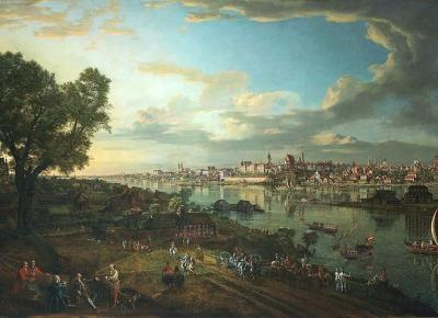 Warszawa XVIII wieku na obrazach Bernarda Bellotto (Canaletto) - Pourri | Kultura niepopularna