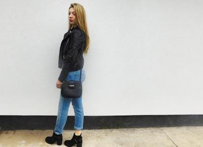 Milena: Classic look for october