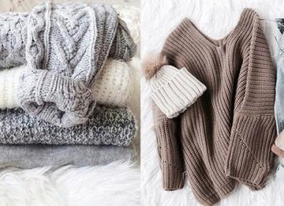 Milena: Must Have Na Jesień: Grube Swetry