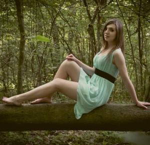 Milena: Sesja w lesie