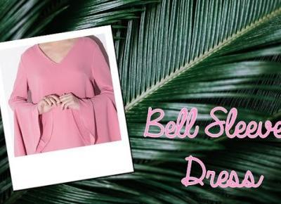 Milena: Trend: Bell Sleeve Dress