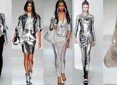 Milena: Metaliczne ubrania