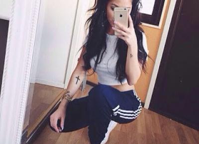 Milena: DIY: Dresy Adidas Tumbr Girl