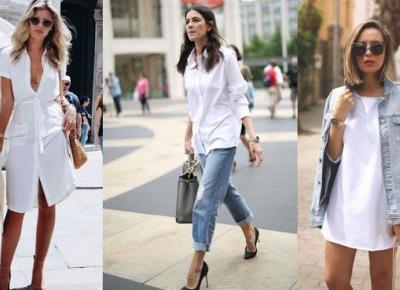 Trend: Biała koszula