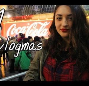 '15 VLOGMAS #1| Ciężarówka CocaColi, Świąteczny klimat w UK