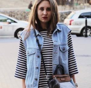 Blog Pukarskiej: striped dress