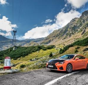 Lexus RC-F i trasa Transfogarska - inspirująca podróż