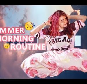 My summer morning routine ☼ Moja wakacyjna poranna rutyna